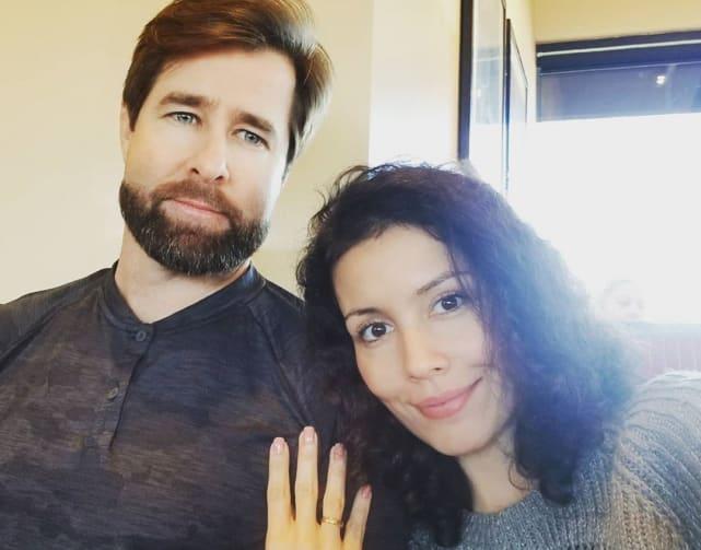 Evelyn y Justin Halas