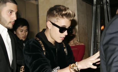 Justin Bieber in Great Britain