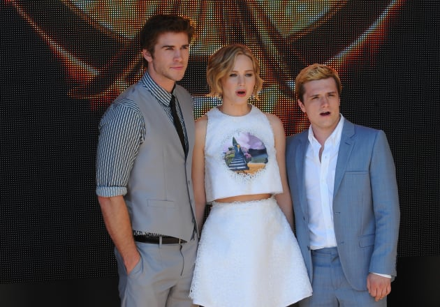 Hunger Games Trio