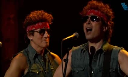 Bruce Springsteen and Jimmy Fallon Destroy Chris Christie, Mock Bridgegate Scandal