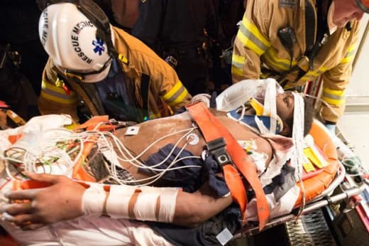 Asher Vongtau Rescued by FDNY