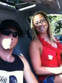 Jenelle Evans and Gary Head Photo