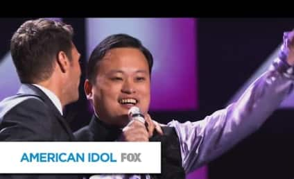"William Hung ""Bangs"" Out on American Idol Stage Once Again!"