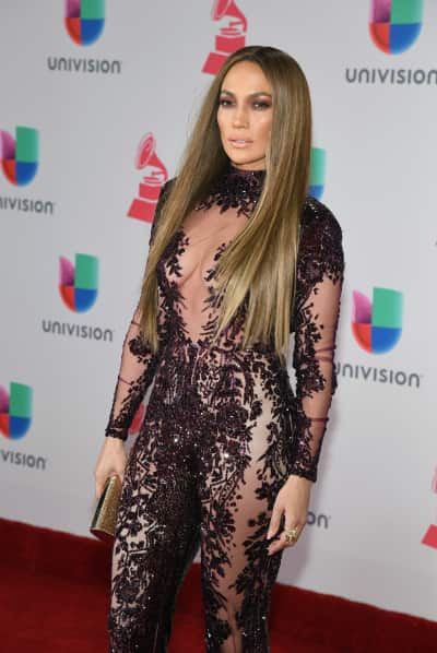 Jennifer Lopez at Latin Grammys