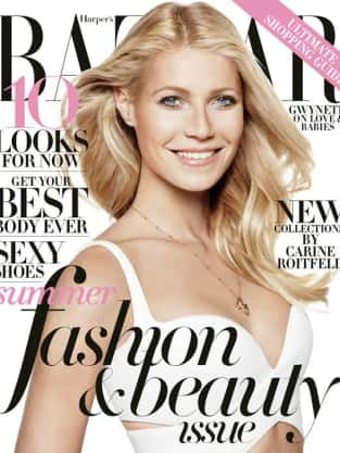 Gwyneth Paltrow for Harper's Bazaar