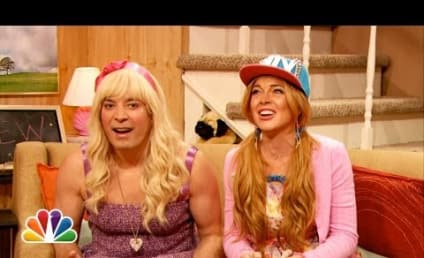 "Jimmy Fallon and Lindsay Lohan Declare Twerking Over, Introduce ""Scrumping"""