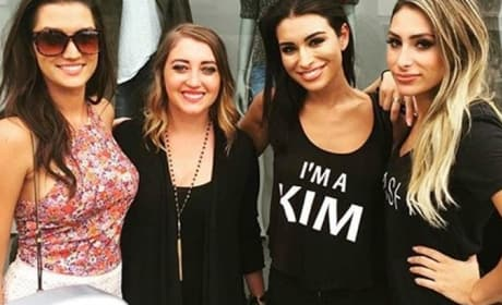 Ashley Iaconetti is Kim Kardashian