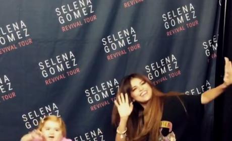 Audrey Nethery and Selena Gomez