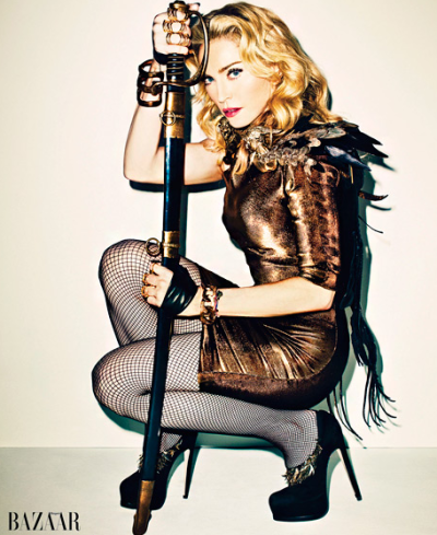 Madonna Harper's Bazaar Photo