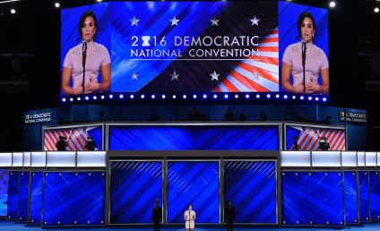 Demi Lovato Talks Mental Illness at DNC, Stands with Her