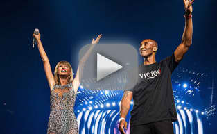 "Taylor Swift Receives ""Amazing Surprise"" from Kobe Bryant"