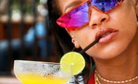 Rihanna: Boozing It Up