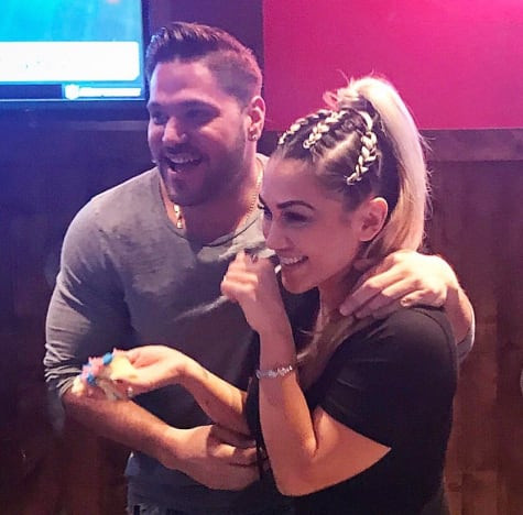 Ronnie Jersey Shore still dating Sammi