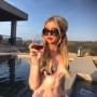Sophia hutchins sips an afternoon rose