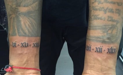 Kanye West Honors Mother and Daughter with New Tattoos
