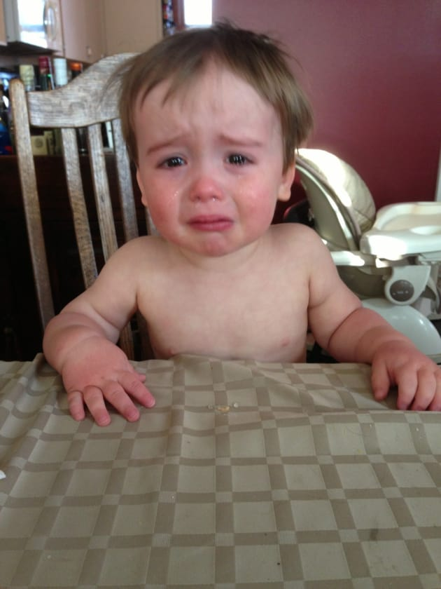 Reasons My Son is Crying: Tumblr User Documents Toddler ...