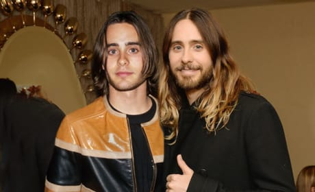 Jared Leto in 2014 and 1994