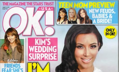 Kim Kardashian Tabloid Cover