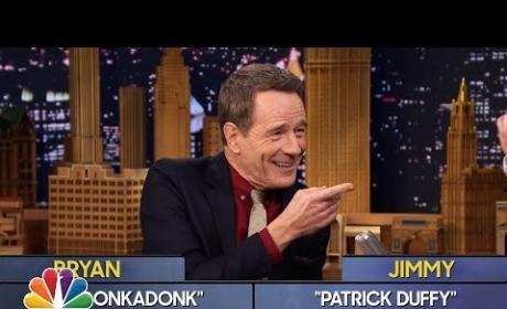 Bryan Cranston Plays Word Sneak on The Tonight Show