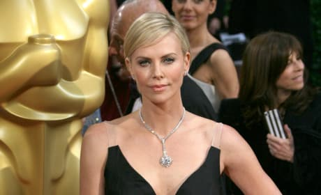 Charlize Theron at the Oscars