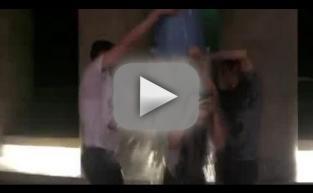 Kristen Stewart and Nicholas Hoult: Ice Bucket Challenge!
