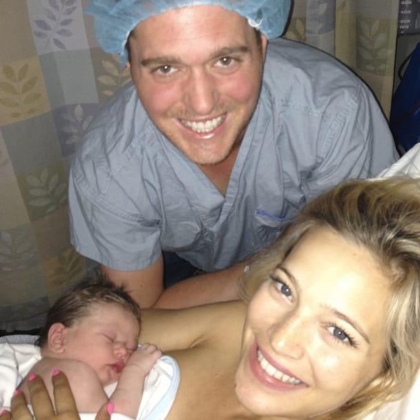 Michael Bublè Baby Pic