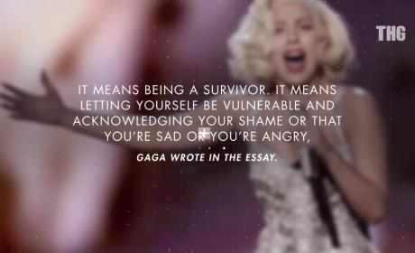 Lady Gaga Writes About Womanhood