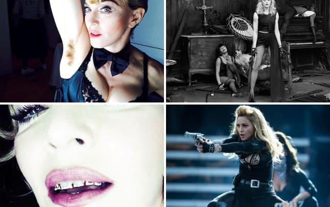 Madonna armpit hair pic