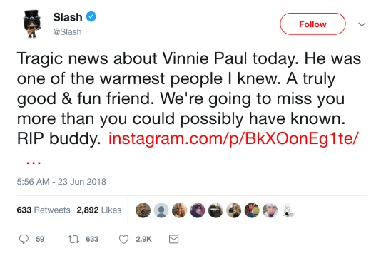 slash tweet