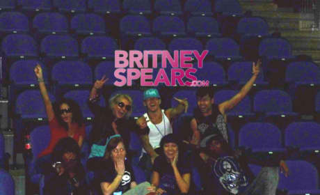 Britney Back Stage