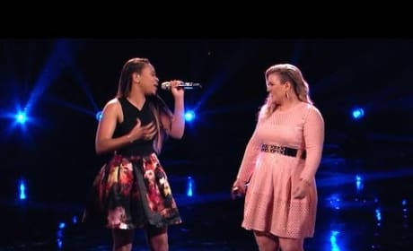 Koryn Hawthorne and Kelly Clarkson - I'd Rather Go Blind (The Voice)