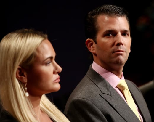 Donald Trump Jr. and Vanessa Trump