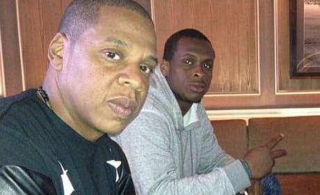 Jay Z and Geno Smith