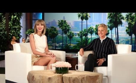 Taylor Swift Talks Fear of Getting Arrested