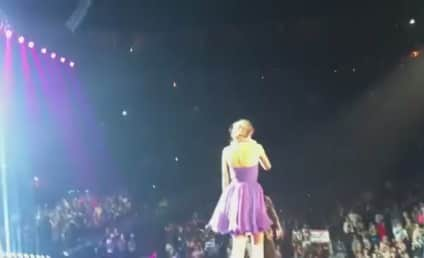 Taylor Swift in Concert: Welcome, T.I.! Welcome, Usher!