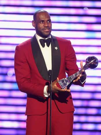 LeBron James ESPYs Photo