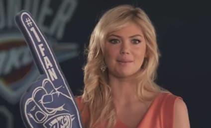 Kate Upton Shadows NBA Stars in Skullcandy Ad