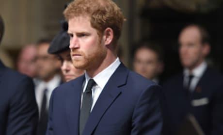 Prince Harry Rocks a Suit