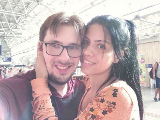 Colt johnson shares larissa lima throwback selfie