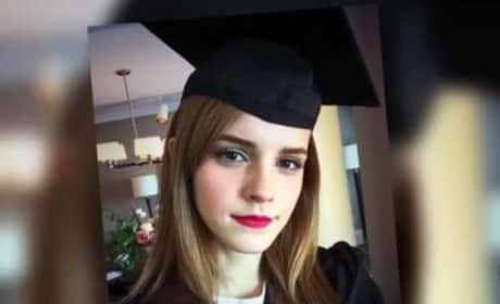Emma Watson Graduates