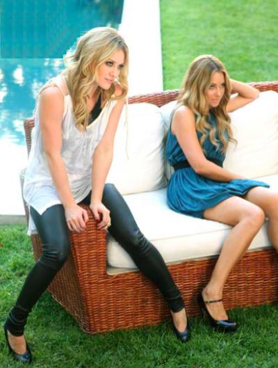 Lauren Conrad, Hilary Duff