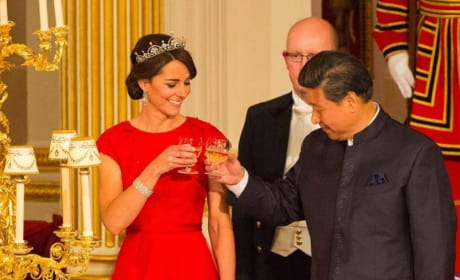 Kate Middleton in a Tiara: China State Dinner