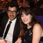 Jacob Pechenik and Zooey Deschanel Pic