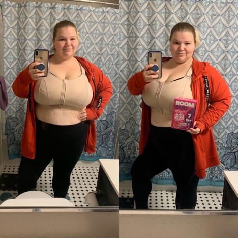 Nicole Nafziger Weight Loss After Thanksgiving 2019