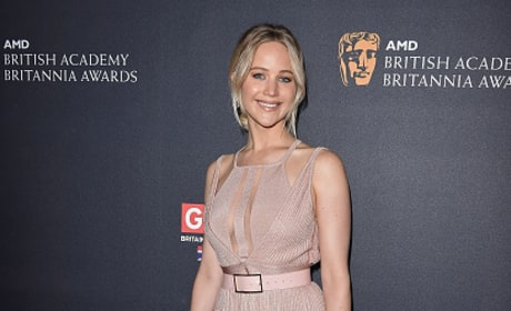 Jennifer Lawrence Attends 2016 AMD British Academy Britannia Awards