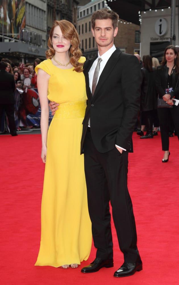 Emma Stone and Andrew Garfield: Spider-Man 2 Premiere