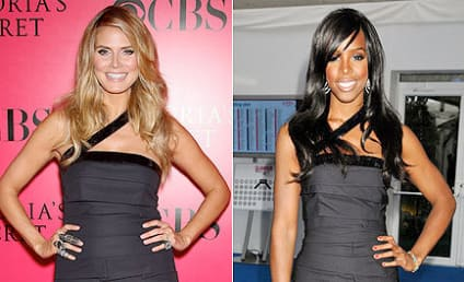 Fashion Face-Off: Heidi Klum vs. Kelly Rowland