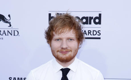 Ed Sheeran at Billboard Music Awards