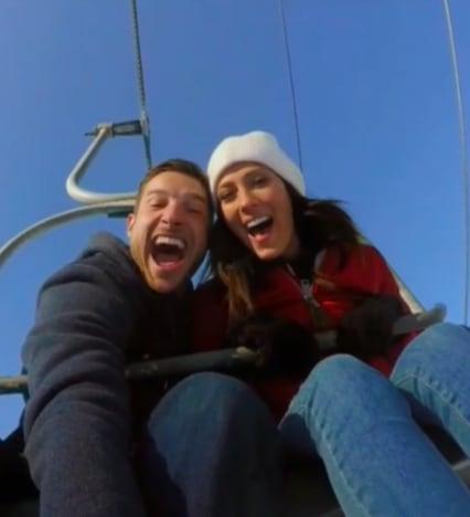 Garrett Yrigoyen with Becca K.