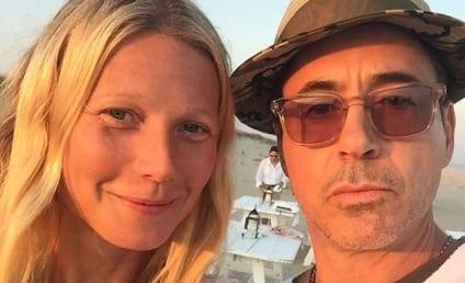 Gwyneth Paltrow Posts Makeup-Free Selfie, Hangs With Robert Downey Jr.